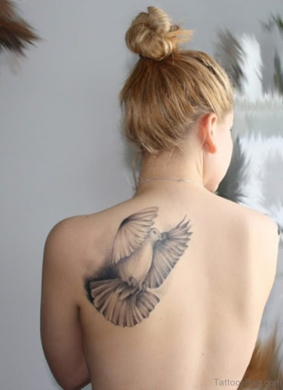 Awesome Dove Tattoo