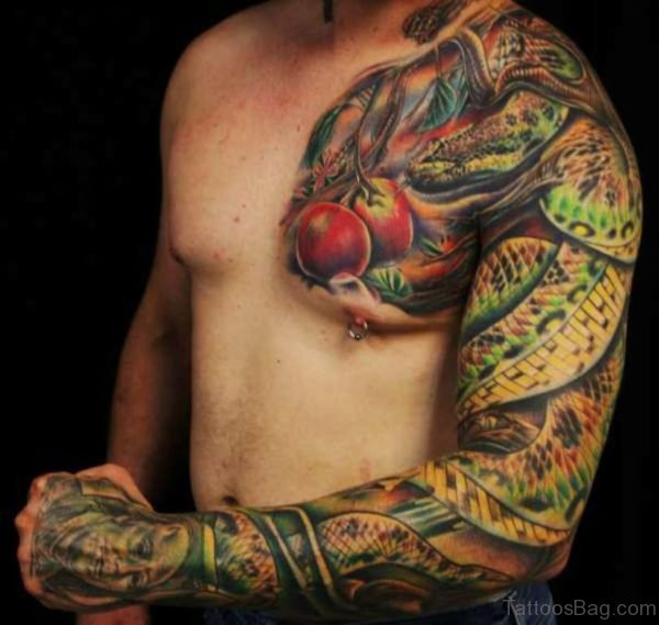 Fancy Full Sleeve Tattoo