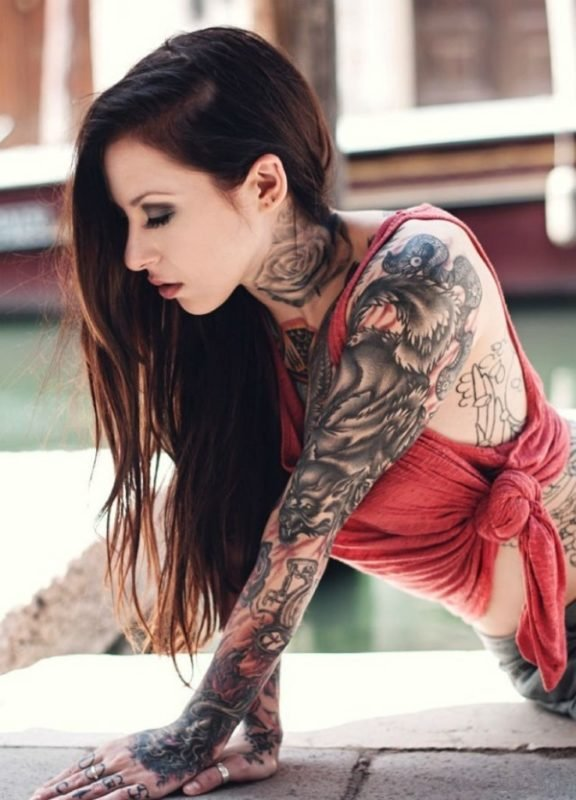 Attractive Full Sleeve Tattoo