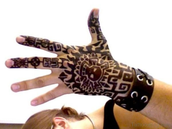 Attractive Hand Tattoo