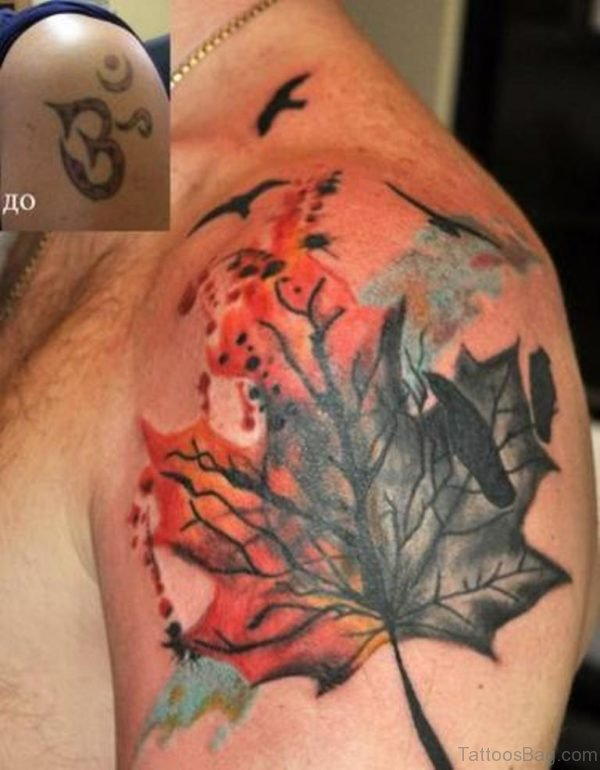 Awesome Leaf Tattoo