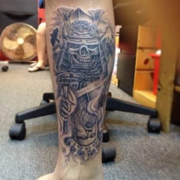 Excellent Leg Tattoo