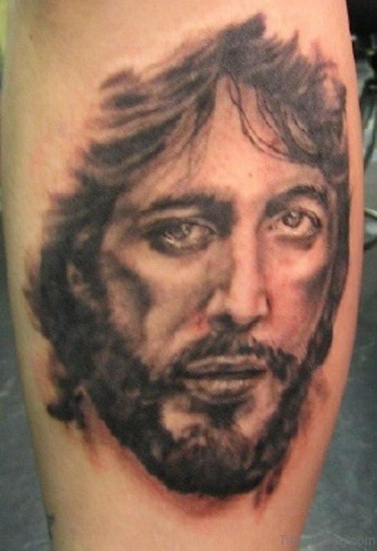 Awesome Portrait Tattoo On Arm