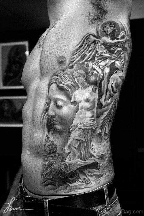 Awesome Rib Tattoo