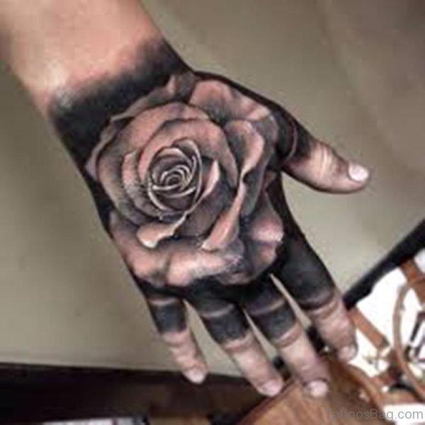 Awesome Rose Tattoo