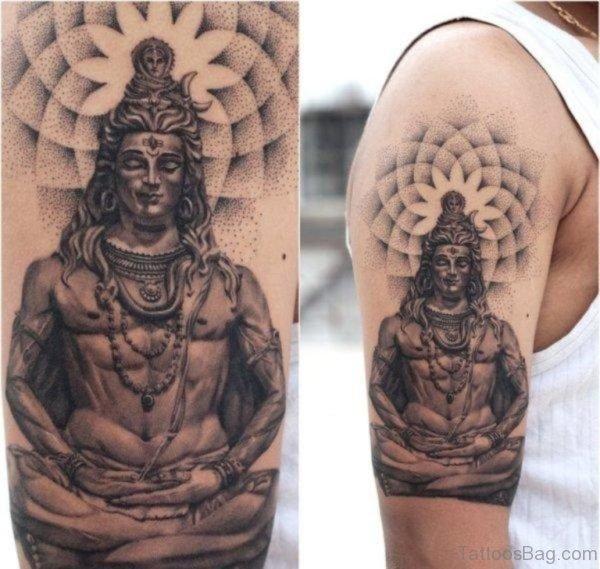Awesome Shiva Tattoo