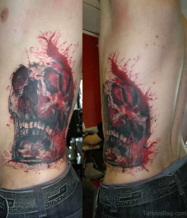 Awesome Skull Tattoo