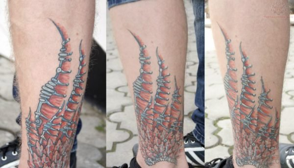 Awesome Wings Tattoo Design