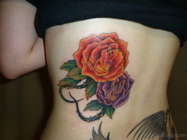 Awful Rose Tattoo Design