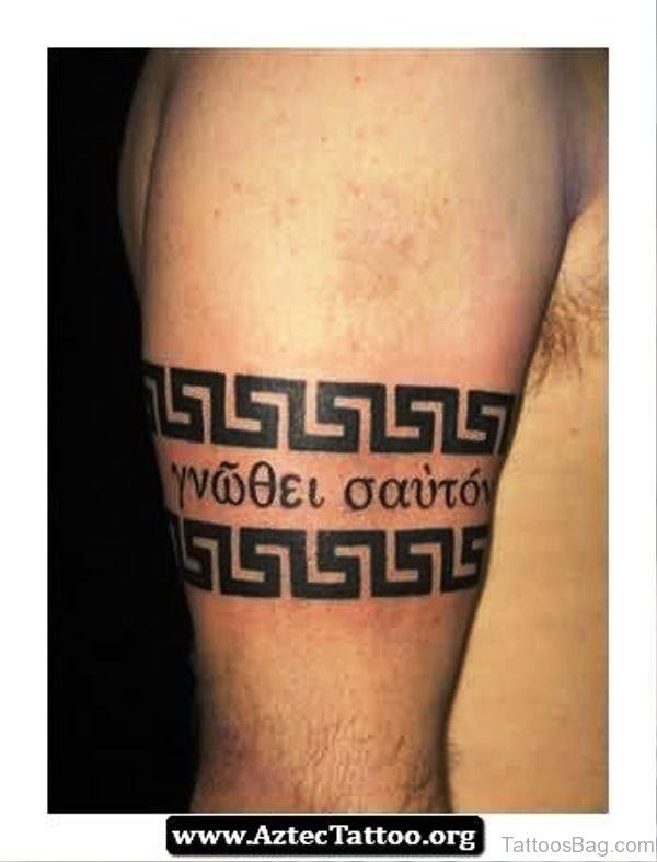 100 superior band tattoos on arm aztec armband tattoo urmus Image collections