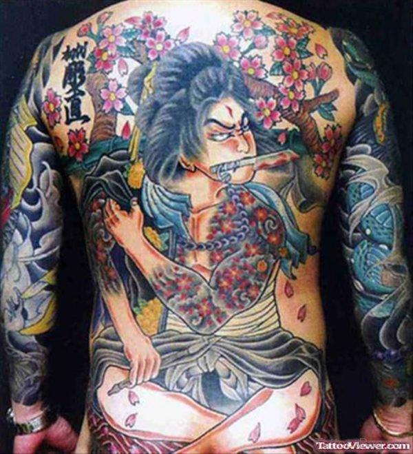 Aztec Girl Tattoo