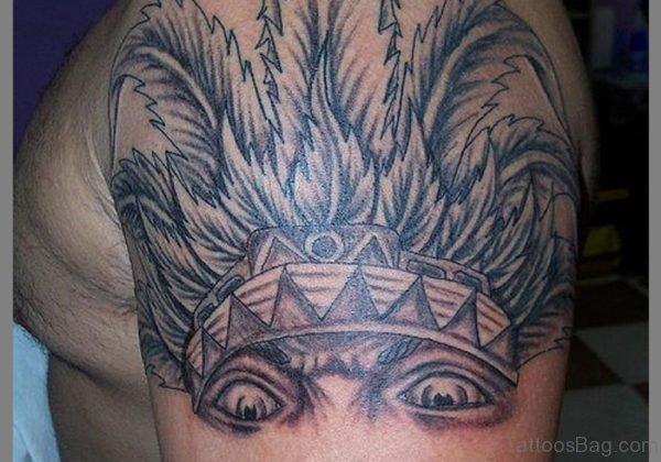 Aztec Half Sleeve Shoulder