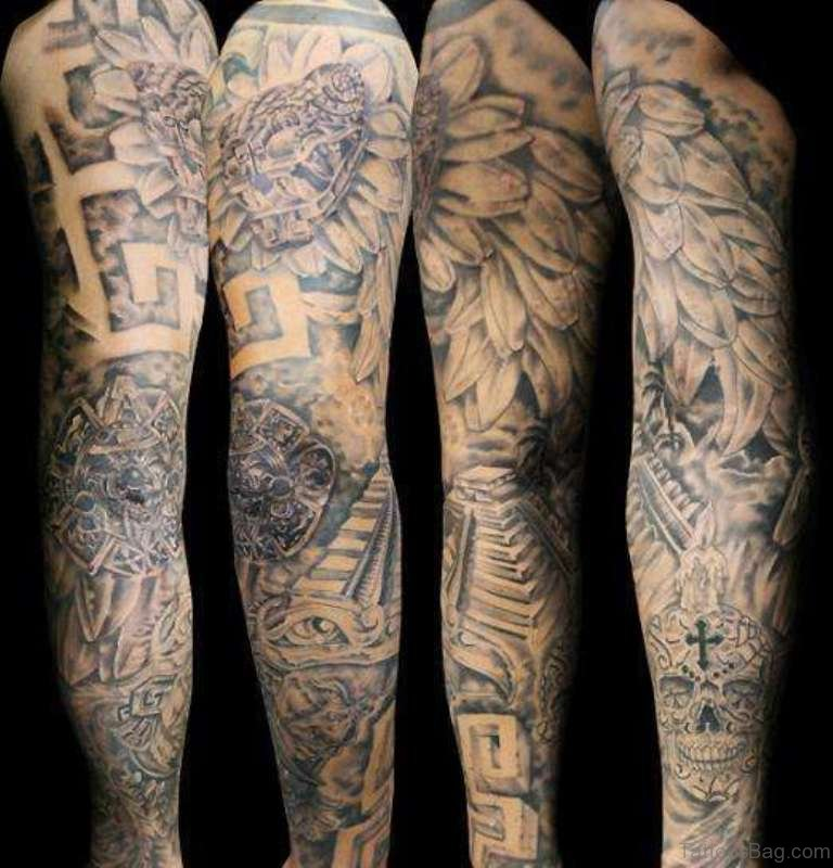71 great full sleeve tattoos. Black Bedroom Furniture Sets. Home Design Ideas