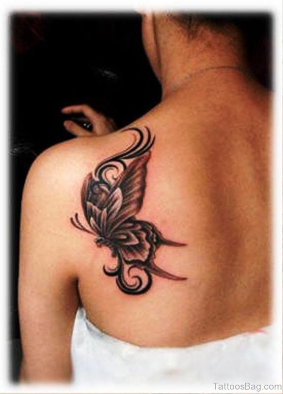 e48011c776f0b 98 Cute Tattoos For Girls On Back Shoulder
