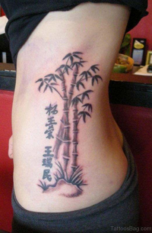 Bamboo Tree Tattoo