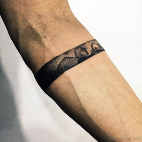 Beautiful Band Tattoo Design