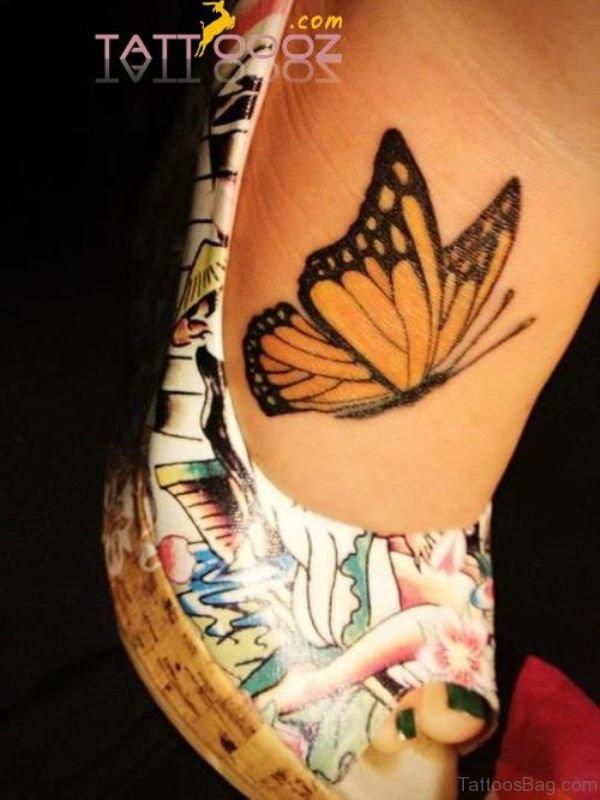 Beautiful Butterfly Tattoo Design 2