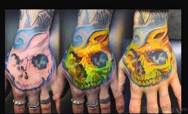 Beautiful Skull Tattoo