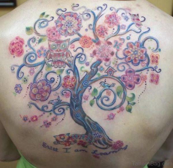 Beautiful Tree Tattoo