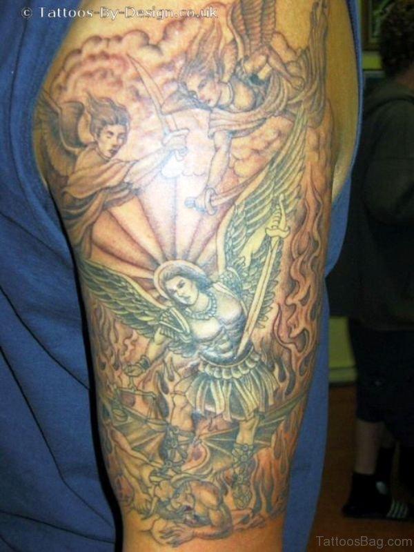 Best Archangel Tattoo Design