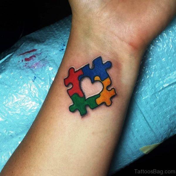 Best Autism Tattoo On Wrist