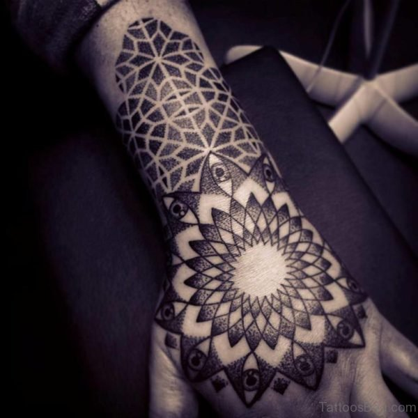 Best Mandala Tattoo On Hand