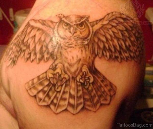 Best Owl Tattoo On Shoulder
