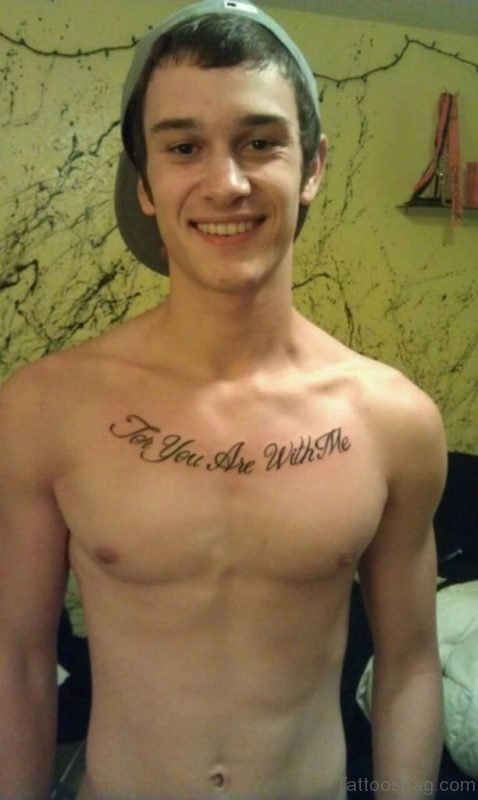 Bible Verses Chest Tattoo