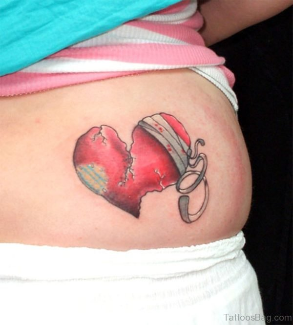 Big Heart With Wings Tattoo