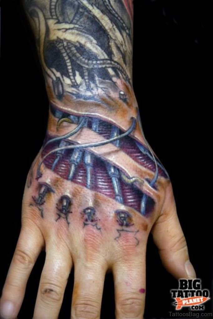 47 Mind Blowing Hand Tattoos