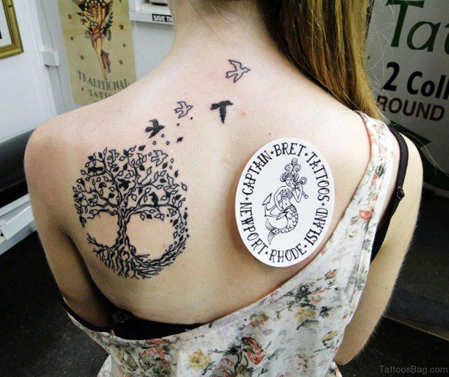 2402fa13b 44 Celtic Tree Tattoos On Back