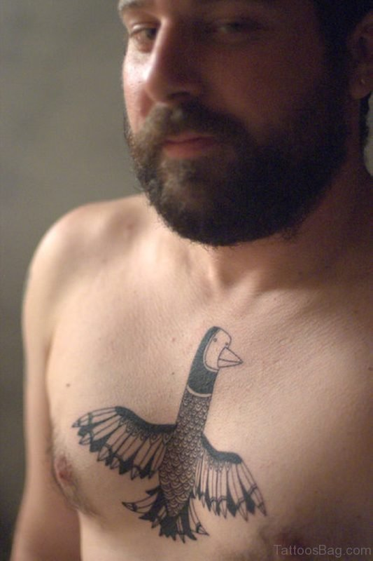 Birds Tattoo On Chest