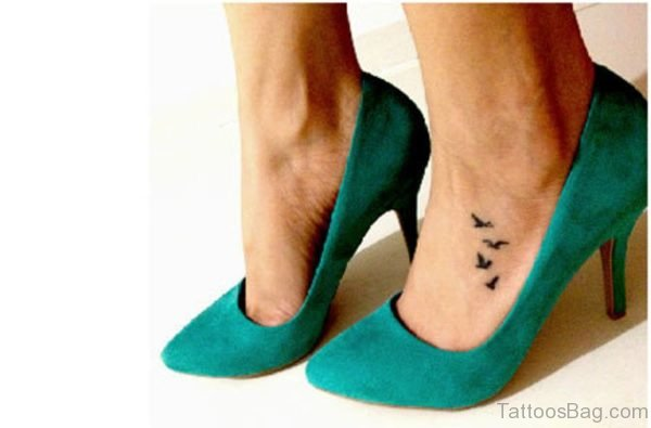 Black Bird Tattoo Design