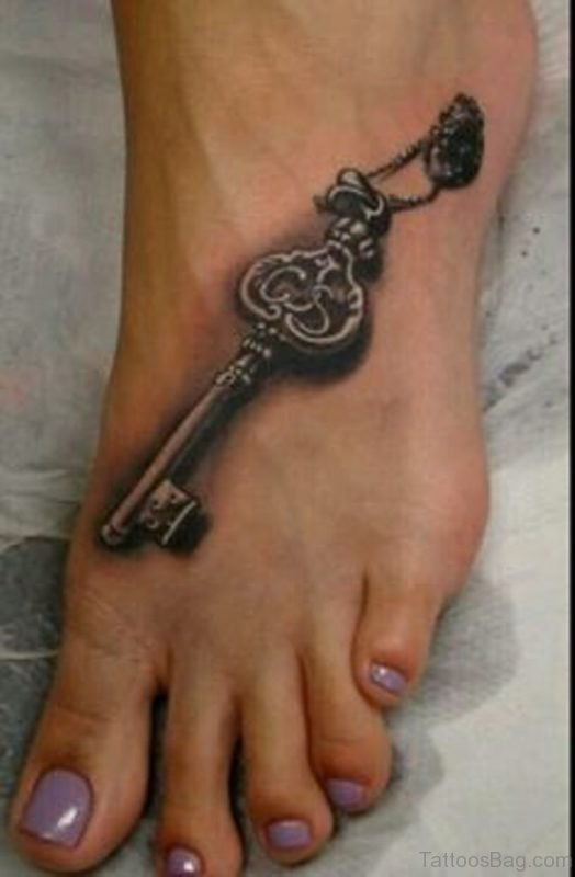 Black Key Tattoo