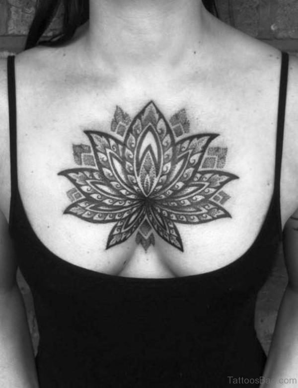 Black Lotus On Chest