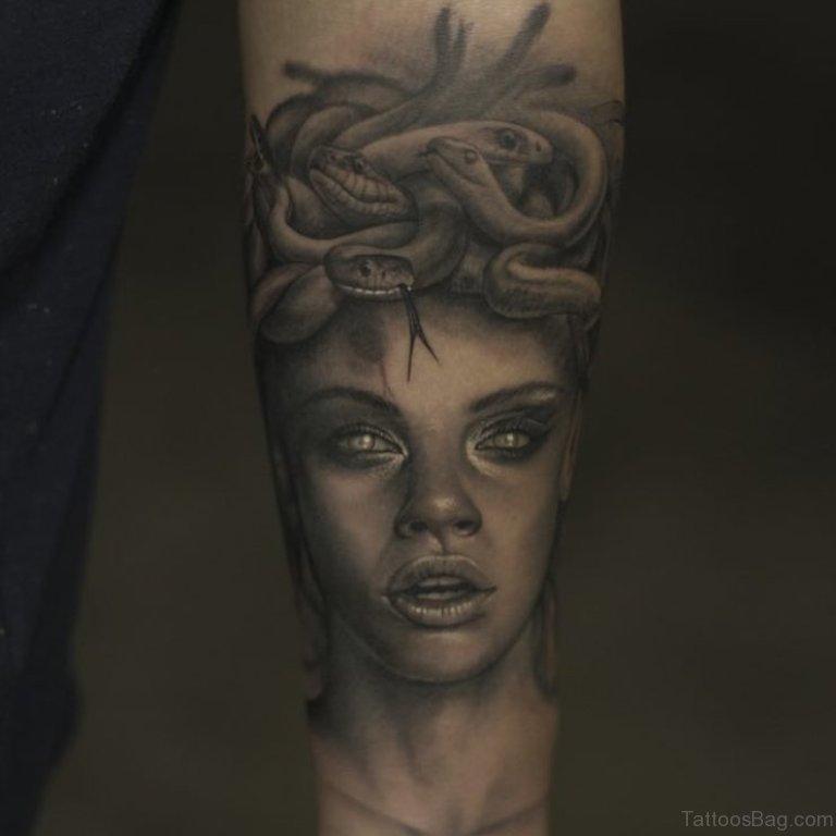 Black Medusa Tattoo: 100 Best Wrist Tattoos