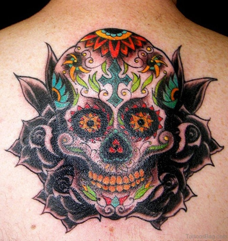 sugar skulls tattoo