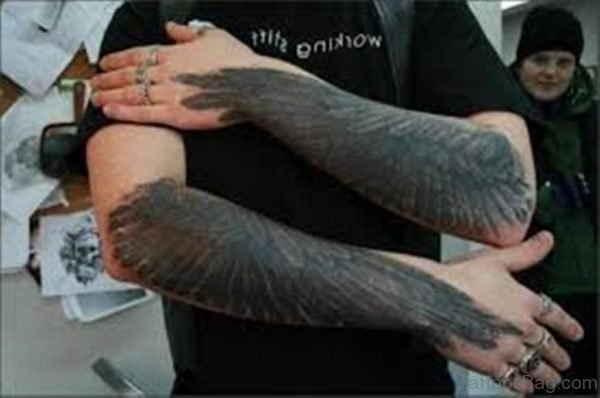 Black Wings Tattoo