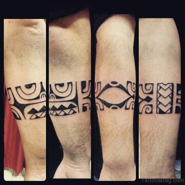 Brilliant Band Tattoo On Arm