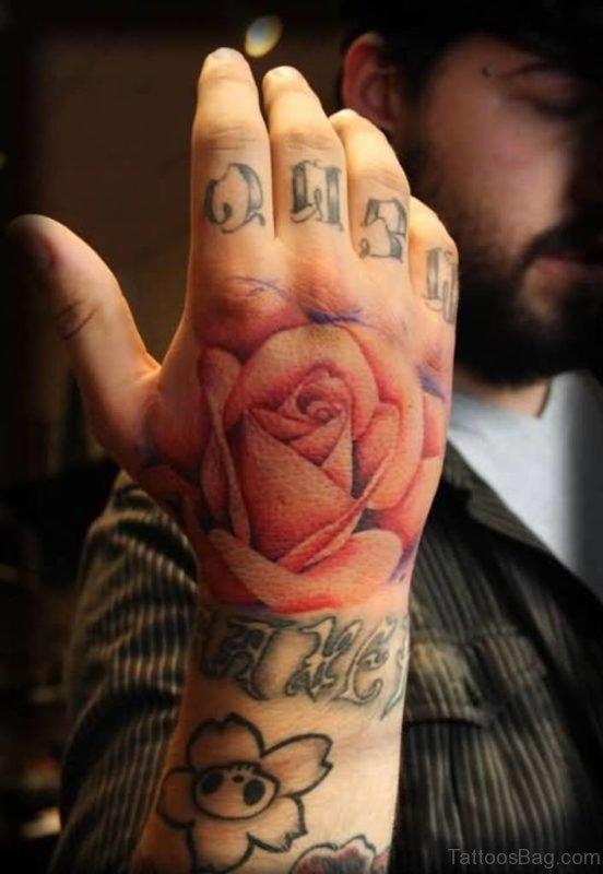 Brilliant Rose Flower Tattoo