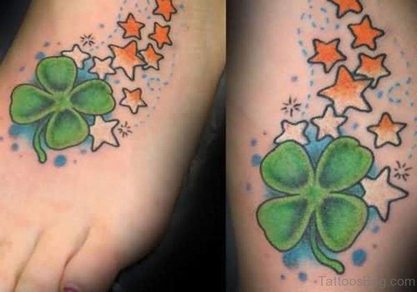 Brilliant Star Tattoo