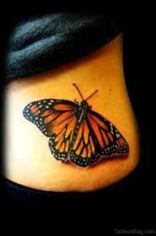 Butterfly Tattoo Design Image