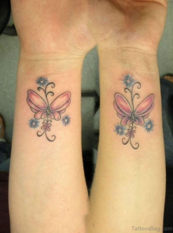 Butterfly Tattoo On Wrist
