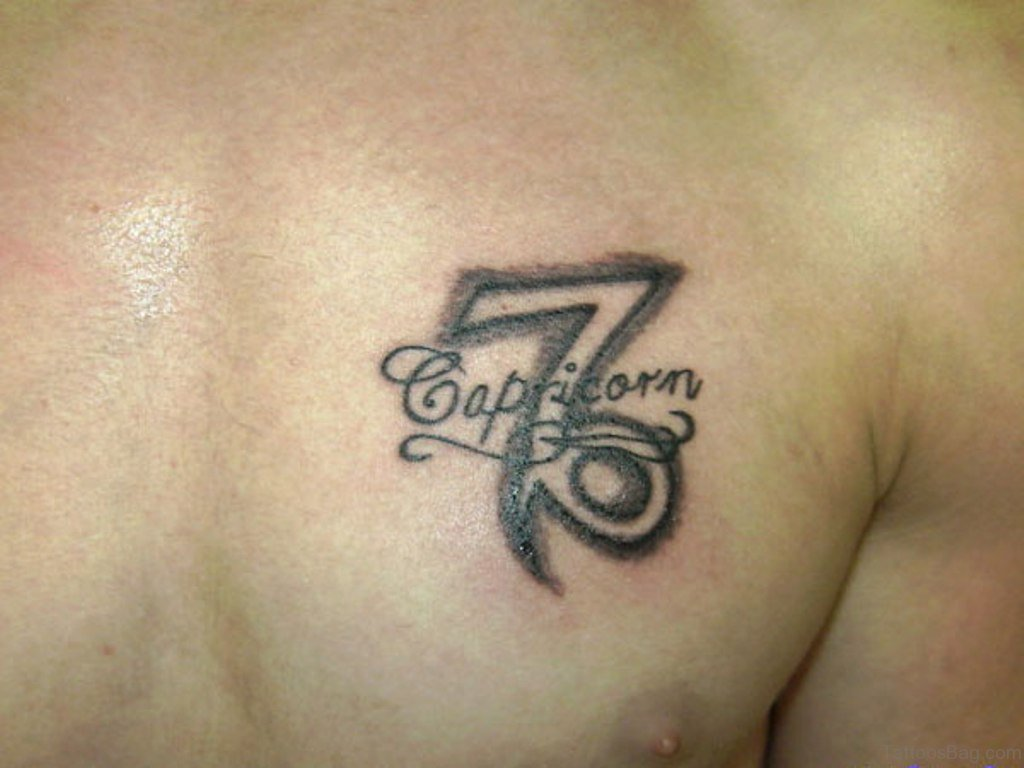 22 capricorn tattoos fitting for these grounded planners ritely. Black Bedroom Furniture Sets. Home Design Ideas