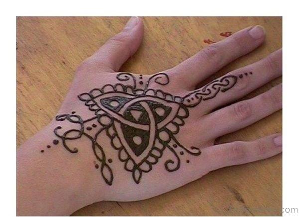 Celtic Hand Tattoo