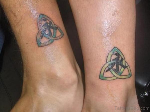Celtic Knot Ankle Tattoo