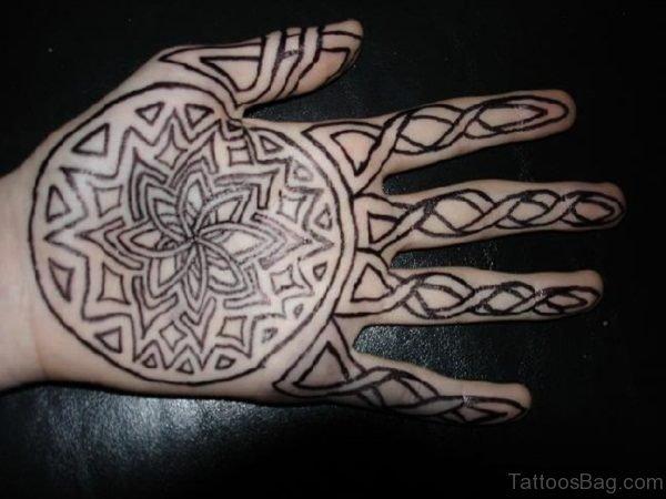 Celtic Sharpie tattoo