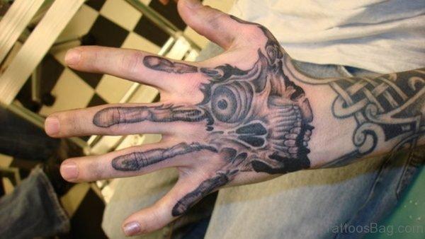 Celtic Skull Tattoo
