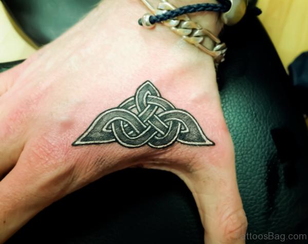 Celtic Tattoo On Hand