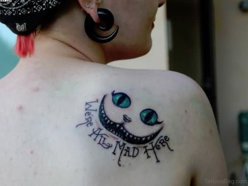 77 wonderful cat tattoos on shoulder for Cat eyes tattoo designs
